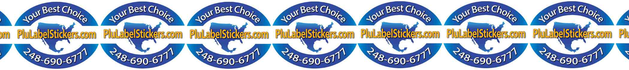 High quality PLU labels Fast